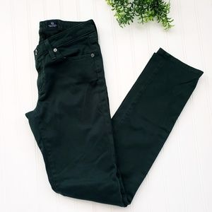 AG Adriano Goldschmied the Stilt Green Pants sz 27